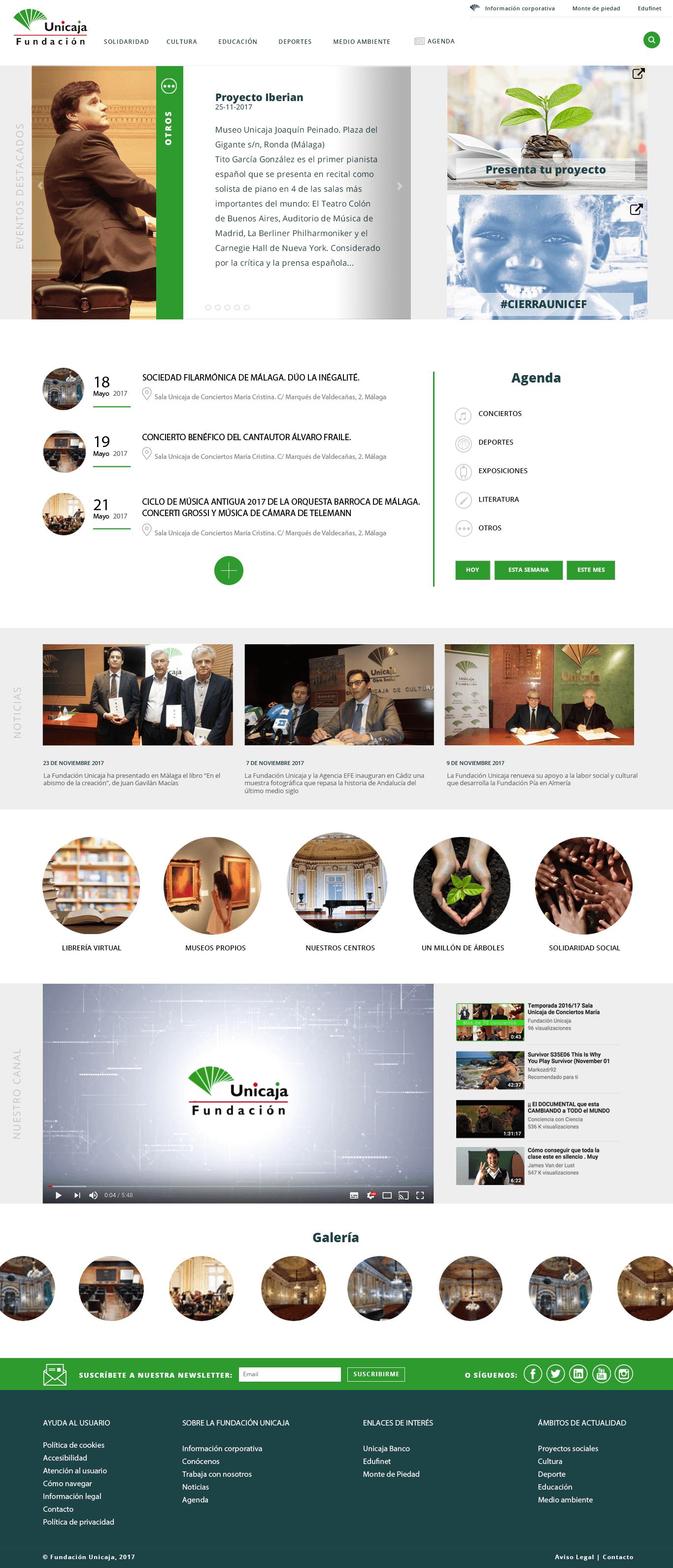 Unicaja Ricardo Bruzual Web Developer